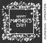 happy mother day background.... | Shutterstock . vector #1398329336