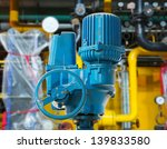 large industrial boiler room | Shutterstock . vector #139833580