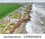 Coastal Erosion On The East...