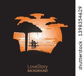 Love Story.silhouette Happy...