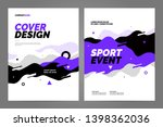 template design with dynamic... | Shutterstock .eps vector #1398362036