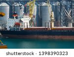 industrial port  infrastructure ... | Shutterstock . vector #1398390323