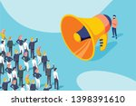 isometric vector of a... | Shutterstock .eps vector #1398391610