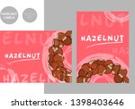 creative colorful hazelnut... | Shutterstock .eps vector #1398403646