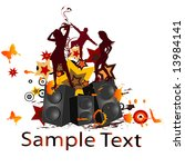 party background | Shutterstock .eps vector #13984141
