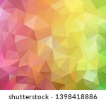vector background from polygons ... | Shutterstock .eps vector #1398418886