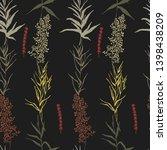 botanical sketch drawing...   Shutterstock .eps vector #1398438209