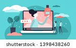 product review vector... | Shutterstock .eps vector #1398438260