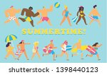 colorful illustration of a... | Shutterstock .eps vector #1398440123