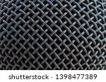 microphone close up for steel... | Shutterstock . vector #1398477389