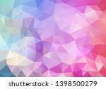 vector background from polygons ... | Shutterstock .eps vector #1398500279