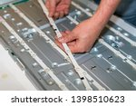 lcd tv repair  disassembly and...   Shutterstock . vector #1398510623
