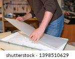 service lcd tv  disassembling...   Shutterstock . vector #1398510629