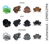 vector design of wildlife and... | Shutterstock .eps vector #1398512996
