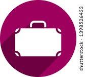 suitcase icon. briefcase symbol ...