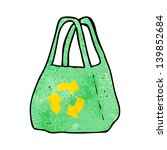 cartoon recycling bag   Shutterstock . vector #139852684