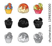 vector design of confectionery... | Shutterstock .eps vector #1398533000