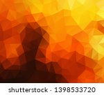 vector background from polygons ... | Shutterstock .eps vector #1398533720