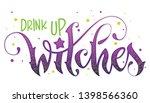 modern hand drawn script style... | Shutterstock .eps vector #1398566360