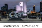 cleveland  ohio usa   may 14 ... | Shutterstock . vector #1398613679
