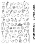 food icons | Shutterstock .eps vector #139862086