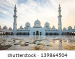 sheikh zayed grand mosque at... | Shutterstock . vector #139864504