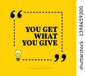 inspirational motivational... | Shutterstock . vector #1398659300