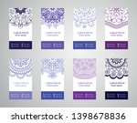 set of banners with ethnic... | Shutterstock .eps vector #1398678836