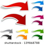 vector illustration of sticky... | Shutterstock .eps vector #139868788