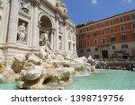 rome  italy   april 18  2019 ...   Shutterstock . vector #1398719756