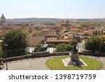 rome  italy   april 18  2019 ...   Shutterstock . vector #1398719759