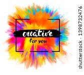 vector abstraction  background... | Shutterstock .eps vector #1398732476
