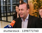 brussels  belgium. 15th may... | Shutterstock . vector #1398772760