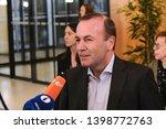 brussels  belgium. 15th may... | Shutterstock . vector #1398772763