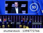 brussels  belgium. 15th may... | Shutterstock . vector #1398772766