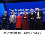 brussels  belgium. 15th may... | Shutterstock . vector #1398776699