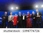 brussels  belgium. 15th may... | Shutterstock . vector #1398776726