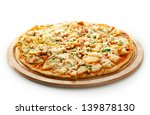 Pizza With Chicken Breast ...