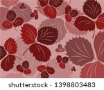 the leaves of the plant... | Shutterstock .eps vector #1398803483