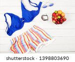 summer season swimwear online... | Shutterstock . vector #1398803690