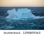 an iceberg along the... | Shutterstock . vector #1398809363