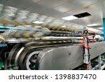 rubber gloves production line ...   Shutterstock . vector #1398837470