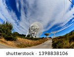 array of satellite dishes or...   Shutterstock . vector #1398838106