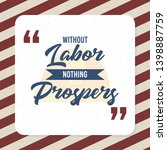 card quote without labor... | Shutterstock .eps vector #1398887759