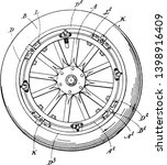 detachable rim in which the...   Shutterstock .eps vector #1398916409