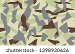 military camouflage  repeats... | Shutterstock .eps vector #1398930626