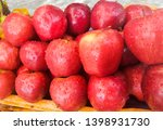 fresh apple in the market | Shutterstock . vector #1398931730