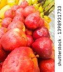 fresh apple in the market | Shutterstock . vector #1398931733
