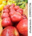 fresh apple in the market | Shutterstock . vector #1398931736
