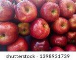fresh apple in the market | Shutterstock . vector #1398931739